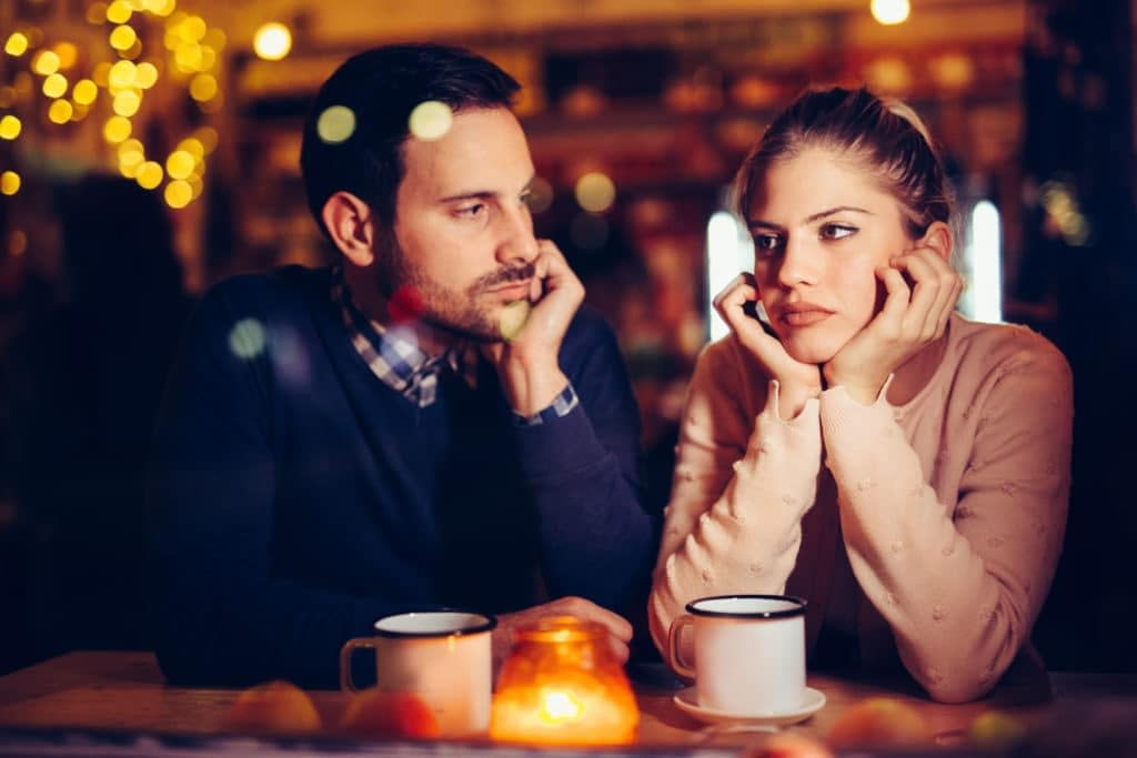 marriage problems unhappy couple