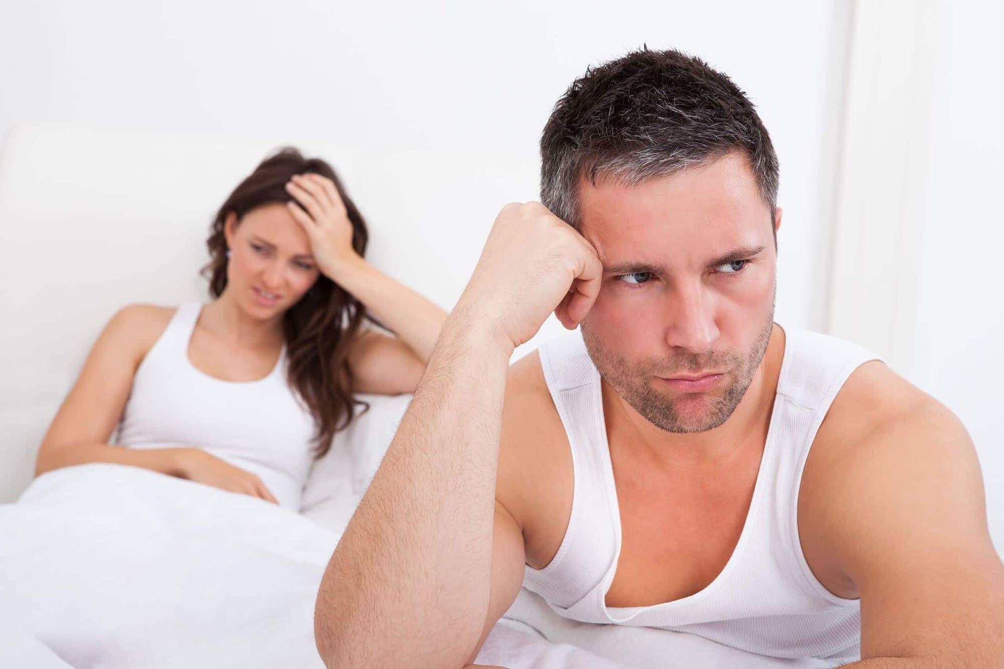 frustrated husband