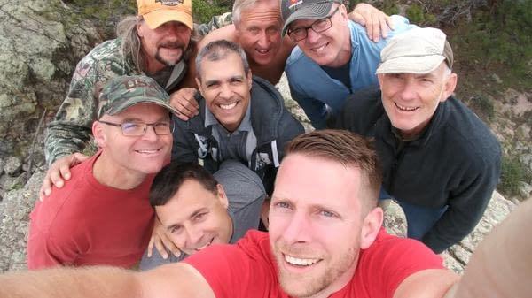 Men's retreat in Colorado